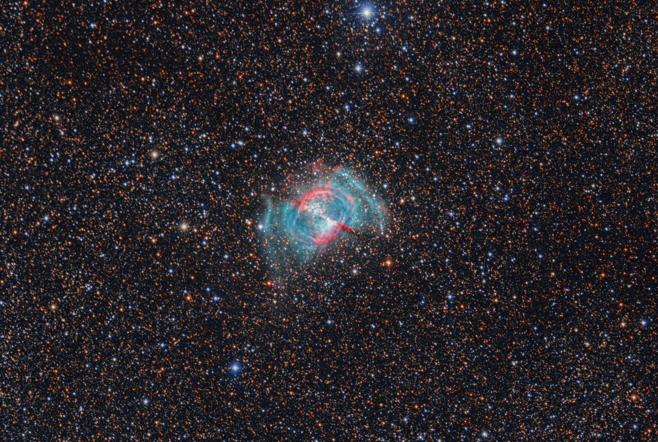 M 27 Dumbbell Nebula