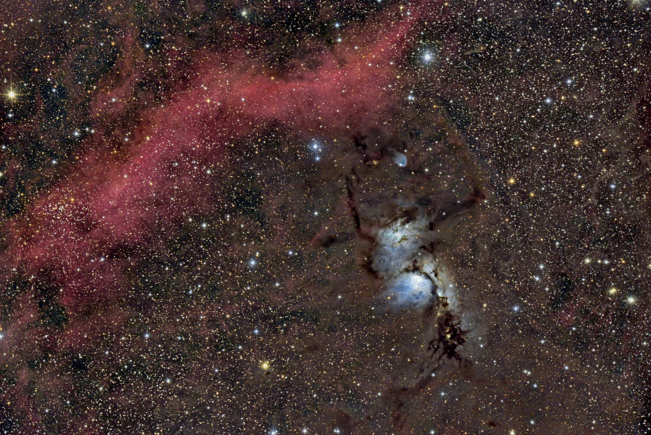 M 78 reflection nebula