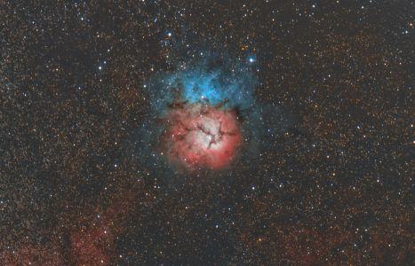 M 20 Trifid Nebula