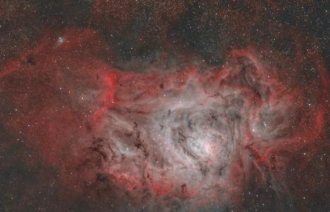 M 8 Lagoon Nebula