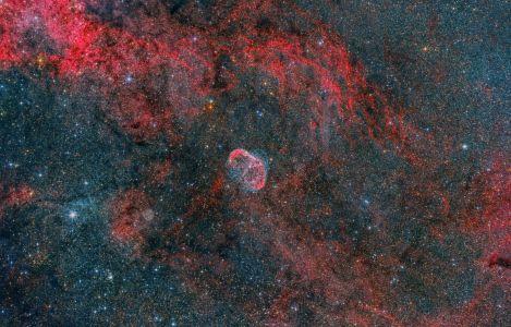 NGC 6888 Crescent Nebula