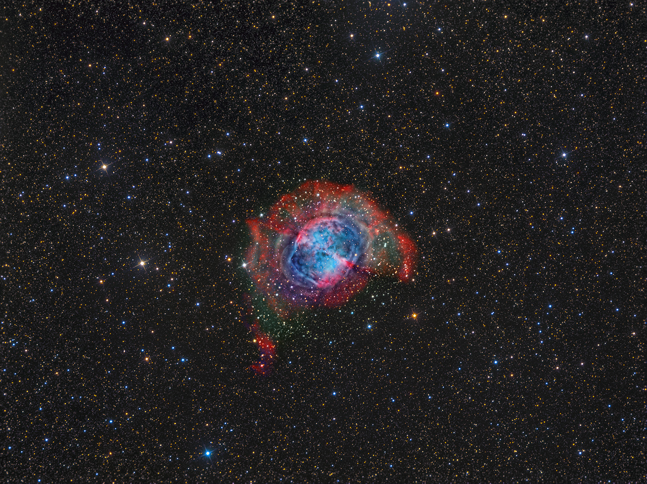 how to find dumbbell nebula